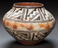 American Indian Art:Pottery, AN ACOMA POLYCHROME JAR. c. 1920...