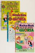 Modern Age (1980-Present):Humor, Richie Rich and Gloria #1-25 File Copies Group (Harvey, 1977-82) Condition: Average NM-.... (Total: 69 Comic Books)
