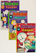 Bronze Age (1970-1979):Cartoon Character, Richie Rich and Casper File Copies Group (Harvey, 1974-82) Condition: Average NM-.... (Total: 93 Comic Books)