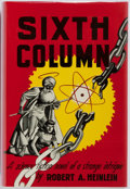 Books:Science Fiction & Fantasy, Robert A. Heinlein. Sixth Column. Gnome, 1949. Firstedition, first printing. Publisher's cloth with mild shelfwear....