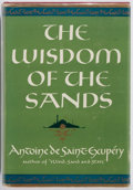 Books:Literature 1900-up, Antoine de Saint-Exupery. The Wisdom of the Sands. Harcourt,Brace, 1950. First edition with [b.12.50] on copyright ...