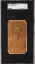 Baseball Cards:Singles (Pre-1930), 1887 Chas. Gross & Co. Four Base Hits Pete Gillespie SGC 10Poor 1....