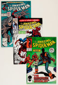 Modern Age (1980-Present):Superhero, The Amazing Spider-Man Group (Marvel, 1986-96) Condition: AverageVF.... (Total: 107 Comic Books)