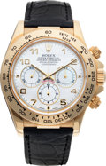 Timepieces:Wristwatch, No Shipping into the U.S. - Rolex Ref. 16518 Gold Oyster Perpetual Cosmograph Daytona. ...