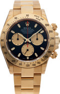 Timepieces:Wristwatch, No Shipping into the U.S. - Rolex Ref. 16528 Gold Oyster Perpetual Cosmograph Daytona, circa 2000. ...