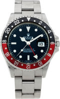 Timepieces:Wristwatch, No Shipping into the U.S. - Rolex Ref. 11671 Steel GMT Master IIWristwatch, circa 2007. ...
