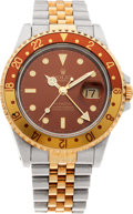 Timepieces:Wristwatch, No Shipping into the U.S. - Rolex Ref. 16713 Two Tone GMT MasterII, circa 2006. ...