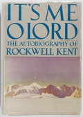Books:Art & Architecture, Rockwell Kent. It's Me O Lord. Dodd, Mead, 1955. First edition, first printing. Publisher's cloth with mild rubbing....