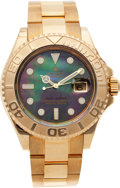 Timepieces:Wristwatch, No Shipping into the U.S. - Rolex Ref. 16628 Gent's Gold Yacht-Master, circa 2002. ...
