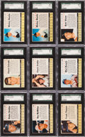 Baseball Cards:Sets, 1961 Post Cereal Baseball Complete Set (200) Plus Company Variants. ...