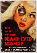 Books:Mystery & Detective Fiction, Erle Stanley Gardner. INSCRIBED. The Case of the Black-EyedBlonde. Morrow, 1944. First edition, first printing. S...