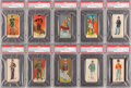 """Non-Sport Cards:Sets, 1880's N224 Kinney """"Military Series"""" SGC-Graded Partial Set (268/600+) ..."""