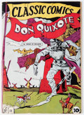 Golden Age (1938-1955):Classics Illustrated, Classic Comics #11 Don Quixote (Gilberton, 1943) Condition: FN-....
