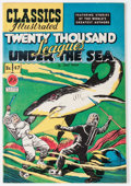 Golden Age (1938-1955):Classics Illustrated, Classics Illustrated #47 Twenty Thousand Leagues Under the Sea -Original Edition (Gilberton, 1948) Condition: VF-....