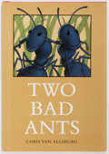 Books:Children's Books, Chris Van Allsburg. SIGNED. Two Bad Ants. Boston: HoughtonMifflin, 1988. Later printing. Signed and dated by the ...