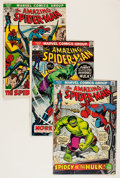 Bronze Age (1970-1979):Superhero, The Amazing Spider-Man Group (Marvel, 1972-79) Condition: AverageFN/VF.... (Total: 82 Comic Books)