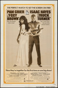 "Movie Posters:Blaxploitation, Foxy Brown/Truck Turner Combo (American International, R-1974). OneSheet (27"" X 41""). Blaxploitation.. ..."