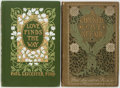 Books:Literature Pre-1900, Paul Leicester Ford. Two Works in the Original Publisher'sDecorative Cloth Bindings. Very good. From the Collection ofJudith... (Total: 2 Items)