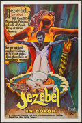 "Movie Posters:Sexploitation, The Joys of Jezebel (P.S. Films, 1973). One Sheet (28"" X 42"").Sexploitation.. ..."