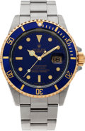 Timepieces:Wristwatch, No Shipping into the U.S. - Rolex Ref. 16613 Oyster Perpetual Submariner, circa 1991. ...