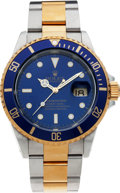 Timepieces:Wristwatch, No Shipping into the U.S. - Rolex Ref. 16613 Two Tone Oyster Perpetual Submariner, circa 1999. ...