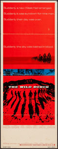 "Movie Posters:Western, The Wild Bunch (Warner Brothers, 1969). Insert (14"" X 36"").Western.. ..."