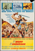 """Movie Posters:Adventure, Sword of the Conqueror and Other Lot (United Artists, 1962). OneSheets (2) (27"""" X 41""""). Adventure.. ... (Total: 2 Items)"""