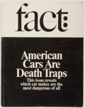 Books:Periodicals, Fact, Volume one, Issue three. American Cars are Death Traps. May-June 1964. Also articles on Cuban Missle Crisi...