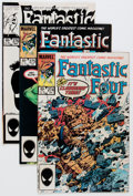 Modern Age (1980-Present):Superhero, Fantastic Four Short Box Group (Marvel, 1985-96) Condition: AverageNM-....