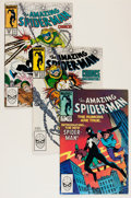 Modern Age (1980-Present):Superhero, The Amazing Spider-Man #252 and 298-300 Group (Marvel, 1984)Condition: Average NM.... (Total: 4 Comic Books)