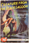 Books:Science Fiction & Fantasy, Vargo Statten. Creature from the Black Lagoon. Dragon Publications, [nd]. Publisher's illustrated wrappers. Mode...