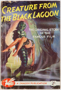 Vargo Statten. Creature from the Black Lagoon. Dragon Publications, [nd]. Publisher'