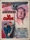 """Movie Posters:Hitchcock, Rope (MGM, R-1963). French Grande (47"""" X 63""""). Hitchcock.. ..."""
