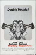 "Movie Posters:Crime, Dirty Harry/Magnum Force Combo (Warner Brothers, R-1975). One Sheet(27"" X 41""). Crime.. ..."