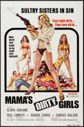"""Movie Posters:Bad Girl, Mama's Dirty Girls (Premiere Releasing, 1974). One Sheet (27"""" X41""""). Bad Girl.. ..."""