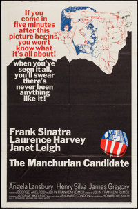 """The Manchurian Candidate (United Artists, 1962). One Sheet (27"""" X 41""""). Thriller"""
