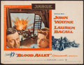 "Movie Posters:Action, Blood Alley (Warner Brothers, 1955). Half Sheet (22"" X 28"").Action.. ..."