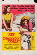 "Movie Posters:Bad Girl, The Careless Years (United Artists, 1958). One Sheet (27"" X 41"").Bad Girl.. ..."