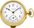 Timepieces:Pocket (pre 1900) , Audemars Freres Parts Quarter Hour Repeating Pocket Watch. ...