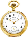 Timepieces:Pocket (post 1900), Vacheron Constantin 30 mm 18k Gold Pocket Watch. ...