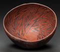 American Indian Art:Pottery, AN ANASAZI BLACK-ON-RED BOWL . c. 1200 ...