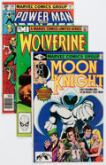 Modern Age (1980-Present):Miscellaneous, Marvel Modern Age 50¢ to 60¢ Short Box Group (Marvel, early to mid-1980s) Condition: Average FN/VF....