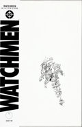 """Original Comic Art:Covers, Dave Gibbons Watchmen #11 """"A Tropical Garden Seen Through a Small Hole in the Snow"""" Cover Re-Creation/Replacement ..."""