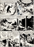 "Original Comic Art:Panel Pages, Will Eisner The Spirit Section ""The Perfect Crime"" Page 7Original Art dated 1-5-47 (Will Eisner, 1947)...."