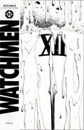 "Original Comic Art:Covers, Dave Gibbons Watchmen #12 ""A Clock at Midnight, Its FaceRunning with Blood"" Cover Original Art (DC, 1987)...."