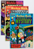 Bronze Age (1970-1979):Cartoon Character, Richie Rich Vaults of Mystery File Copy Short Box Group (Harvey,1974-82) Condition: Average NM-....