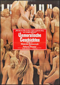 "Movie Posters:Adult, Immoral Tales & Others Lot (Constantin Film, 1974). German A1s (3) (23.5"" X 33""). Adult.. ... (Total: 3 Items)"
