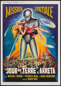 "Movie Posters:Science Fiction, The Day the Earth Stood Still (Jacque Leitienne Films, R-1960s).French Affiche (23"" X 31.25""). Science Fiction.. ..."