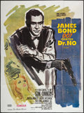 "Movie Posters:James Bond, Dr. No (United Artists, R-1970s). French Grande (47"" X 63""). James Bond.. ..."