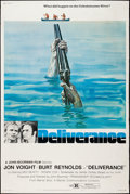 "Movie Posters:Action, Deliverance (Warner Brothers, 1972). Poster (40"" X 60"") Style B.Action.. ..."